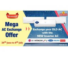 Mega AC Exchange Offer - Exchange Your Old AC With the New AC - Sathya