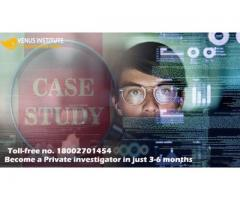 Become a private investigator in just 3-6 months