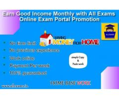 Earn Good Income Monthly With All Exams Online Exam Portal Promotion