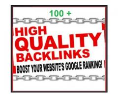 I Will Create 100 Unique Backlinks From Pr5 And Above Websites