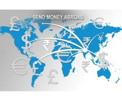 Outward money remittance, send money to abroad, send money out of India.