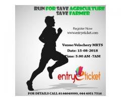RUN FOR SAVE AGRICULTURE AND SAVE FARMER