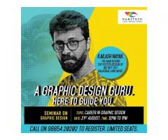 Join Hamstech's Graphic Design Seminar and learn design techniques