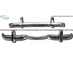 Mercedes W186 300 bumper classic car (1951-1957) by stainless steel