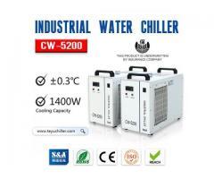 S&A water cooling unit CW-5200 with CE, RoHS and REACH approval