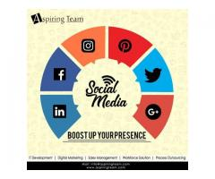 Social Media Marketing Agency in Noida – aspiringteam.com