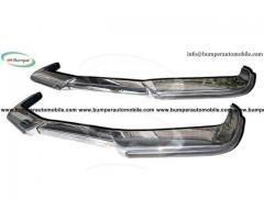 Volvo P1800 bumper  (1963-1973) stainless steel